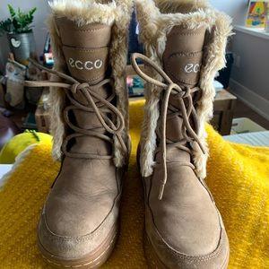 Ecco water resistance winter boots